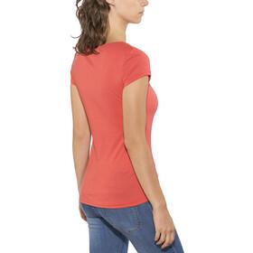 Kaikkialla Tytti Drirelease - Camiseta manga corta Mujer - naranja